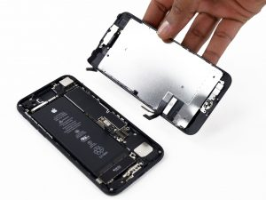 iPhone 7 scherm reparatie open Hi Genius infographic