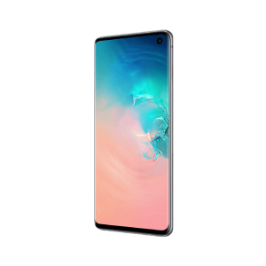 Samsung Galaxy s10 black front side Hi Genius